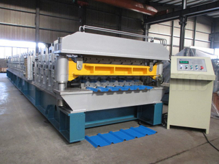 Американдық AG & Rib профилі Double Layer Machine